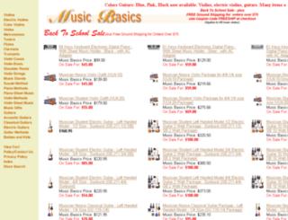 musicbasics.com screenshot