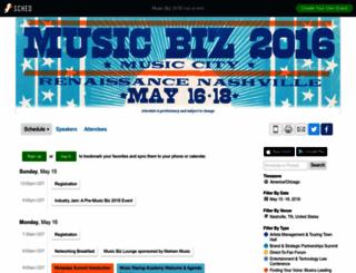 musicbiz2016.sched.com screenshot