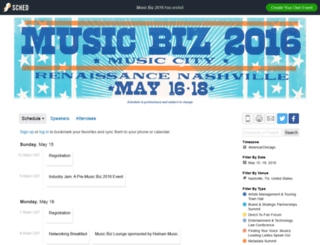 musicbiz2016.sched.org screenshot