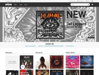 musicbuymail.eu screenshot