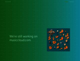 musiccloud.com screenshot