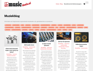 musicdeals.nl screenshot