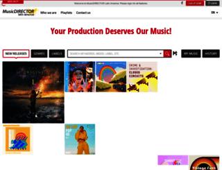 musicdirectorla.com screenshot