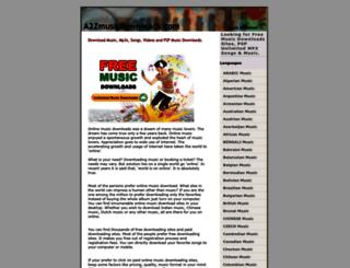 musicdownload.net.in screenshot