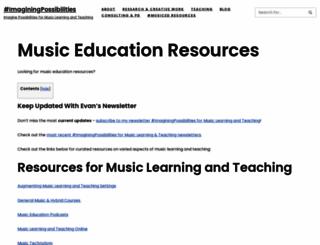 musiced.net screenshot