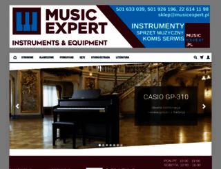 musicexpert.pl screenshot