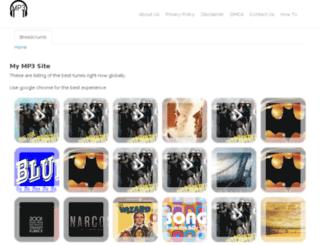 musicfree.info screenshot