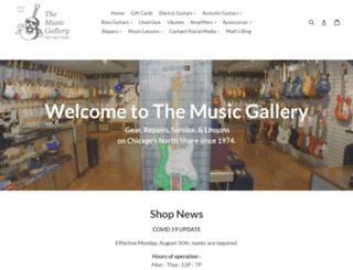 musicgalleryinc.com screenshot