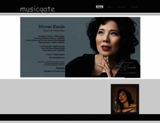 musicgate.co.jp screenshot