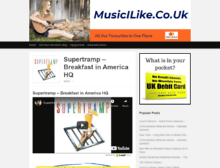 musicilike.co.uk screenshot