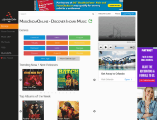musicindiaonline.com screenshot