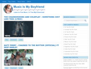 musicismyboyfriend.net screenshot