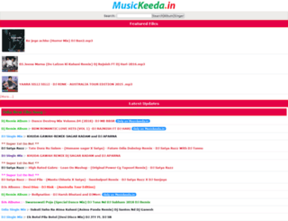 musickeeda.in screenshot