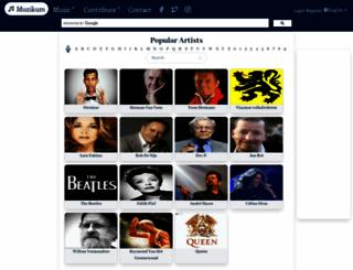 musicloversgroup.com screenshot