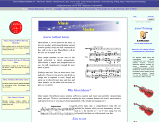 musicmaster.uk.net screenshot