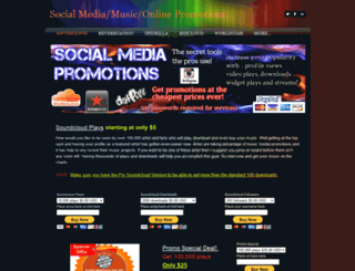 musicmediapromotions.weebly.com screenshot