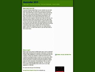 musicmiler.blogspot.com screenshot