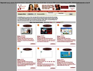 musicmist.com screenshot