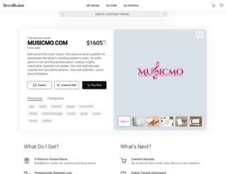 musicmo.com screenshot