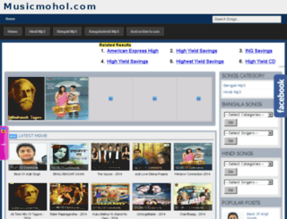 musicmohol.com screenshot