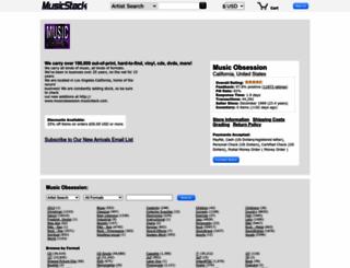musicobsession.musicstack.com screenshot