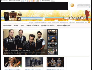 musicopolis.com.ar screenshot