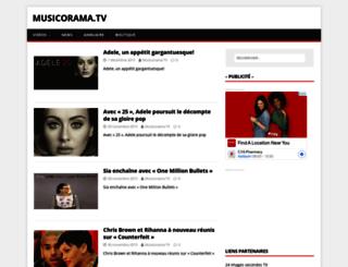 musicorama.tv screenshot