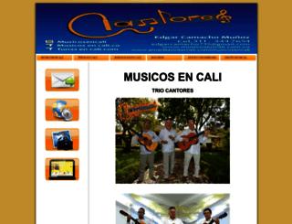 musicosencali.amawebs.com screenshot