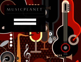 musicplanet.com screenshot