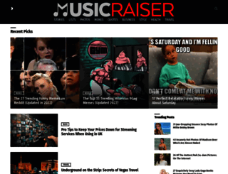 musicraiser.com screenshot