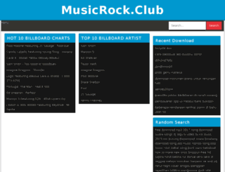 musicrock.club screenshot
