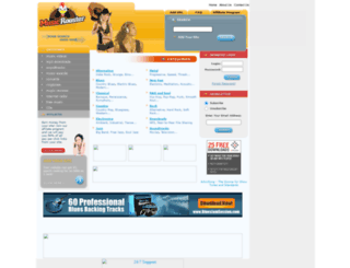 musicrooster.com screenshot