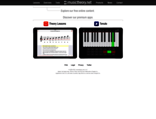 musictheory.net screenshot