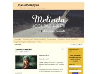 musictherapy.ro screenshot