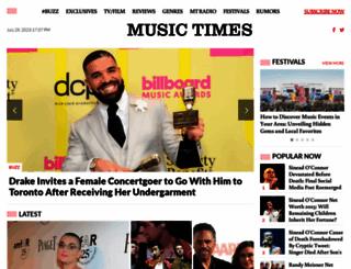 musictimes.com screenshot