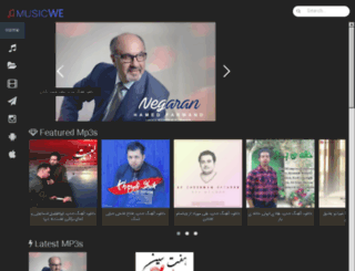 musicwe.ir screenshot