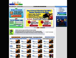 musicwebtown.com screenshot