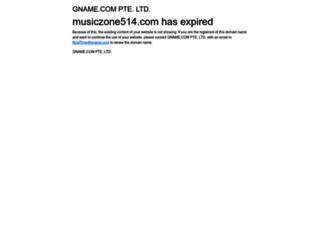 musiczone514.com screenshot