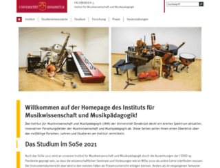 musik.uni-osnabrueck.de screenshot