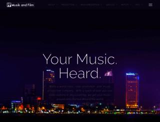 musikandfilm.com screenshot