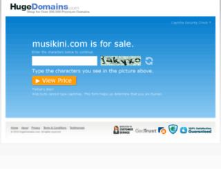 musikini.com screenshot
