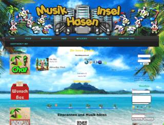 musikinselradio.net screenshot