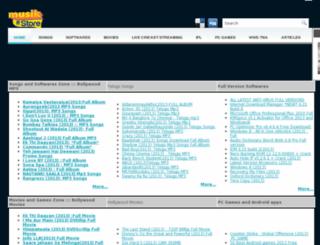 musikstoree.blogspot.com screenshot