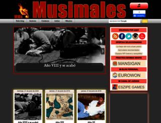 musimales.blogspot.com screenshot