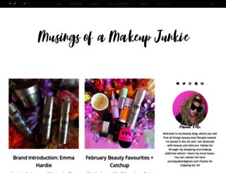 musingsofamakeupjunkie.com screenshot