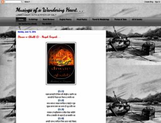 musingsofawanderingheart.blogspot.in screenshot