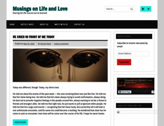 musingsonlifeandlove.com screenshot