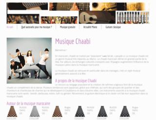 musique-chaabi.com screenshot