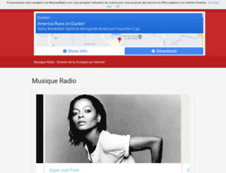 musiqueradio.com screenshot