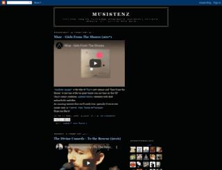musistenz.blogspot.com screenshot